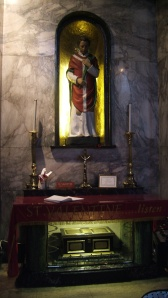 St Valentine's shrine